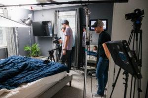 Waves Media Video Production on Set
