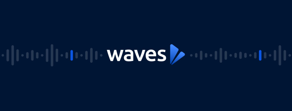 2019 Waves Media Video Production Brand Pattern 2